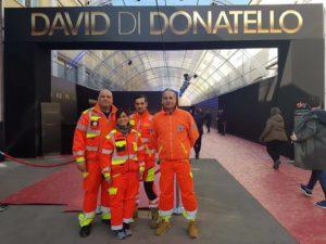 David di Donatello con Ambulanze Private Roma