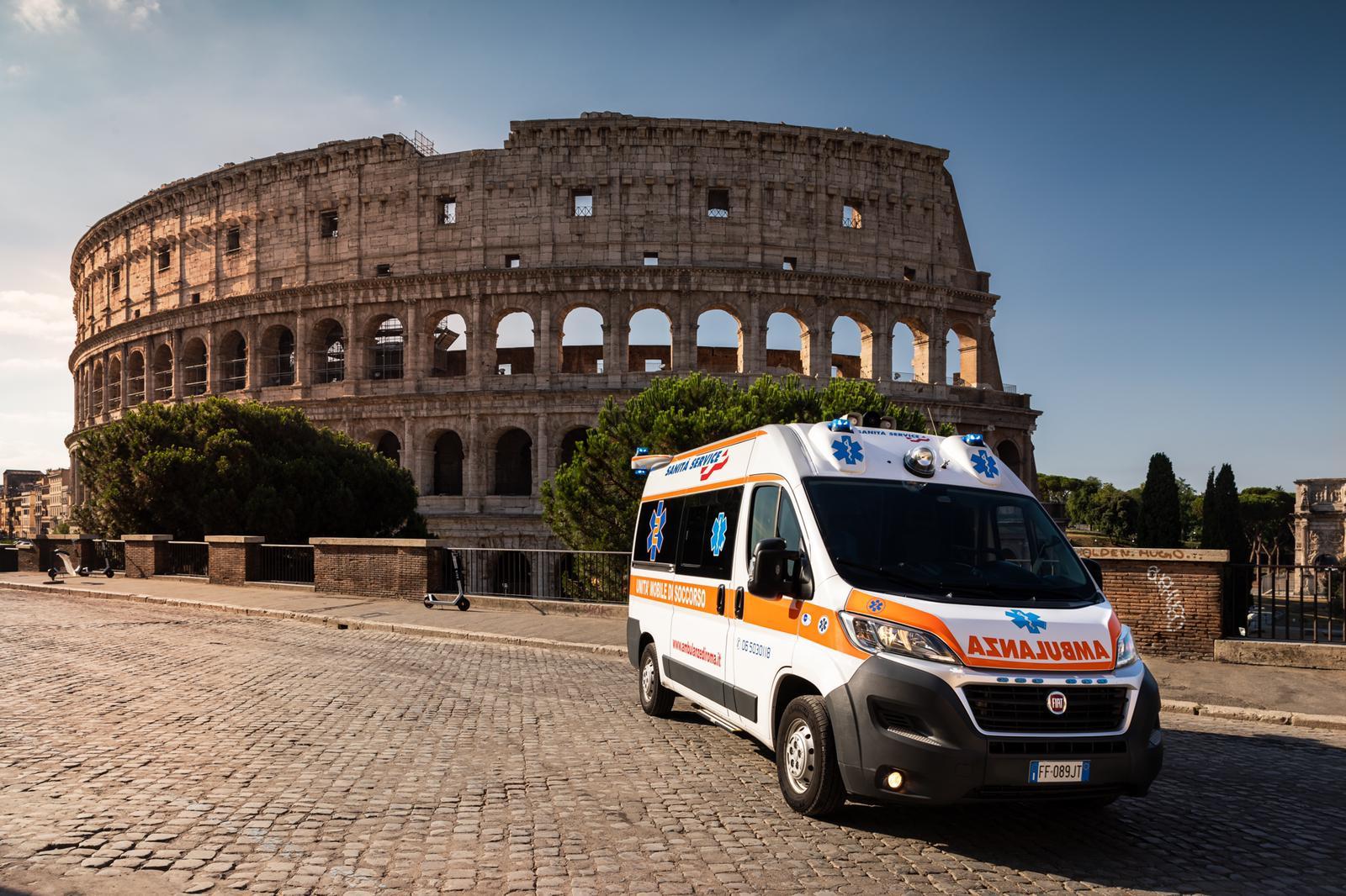 Servizio Ambulanza Covid Roma