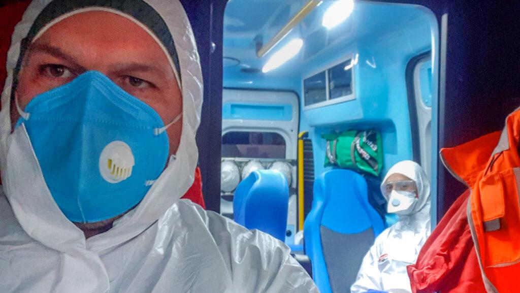 Trasporto Paziente Covid Roma Ambulanza ospedale